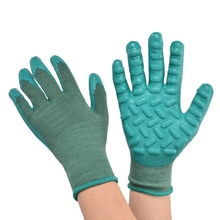 Work-Gloves Latex Labor-Protection Wear-Resistance Anti-Vibration 1-Pair NEW