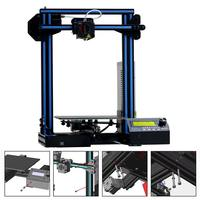 Geeetech A10 Open Fast Assembly 3D Printer 220*220*260 Printing Size Support Remote Control LCD Display 3D Printe
