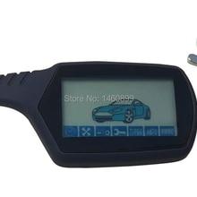 A91 2-полосная ЖК-пульт дистанционного управления брелок для ключей для российских противоугонных транспортных средств безопасности Двухстороннее автосигнализации системы A91 брелок