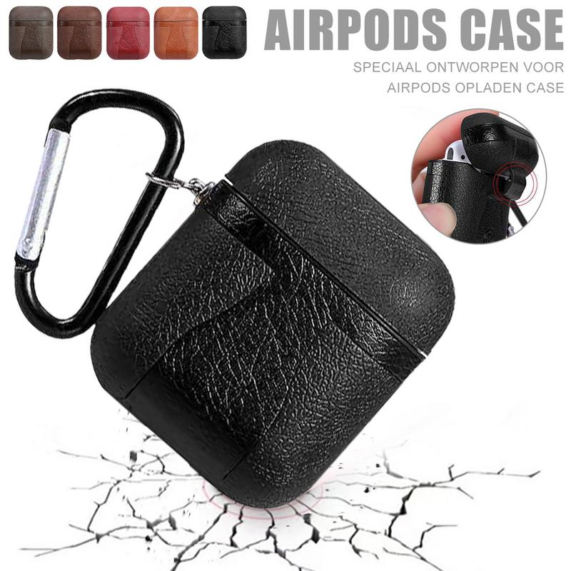 Airpods Case AirPods Accessories Shockproof Case Cover Portable & Protective Skin Case For Apple Airpods Charging Case