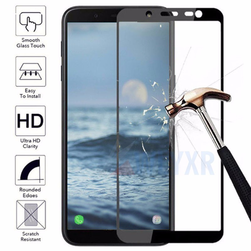 9 H Screen Protector Tempered <font><b>Glass</b></font> For <font><b>Samsung</b></font> Galaxy J2 Prime J1 Ace J3 J5 J7 2016 2017 J2 Pro 2018 <font><b>J</b></font> <font><b>5</b></font> Full Cover Edge Film image