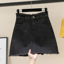 Denim Skirt A Line EL01