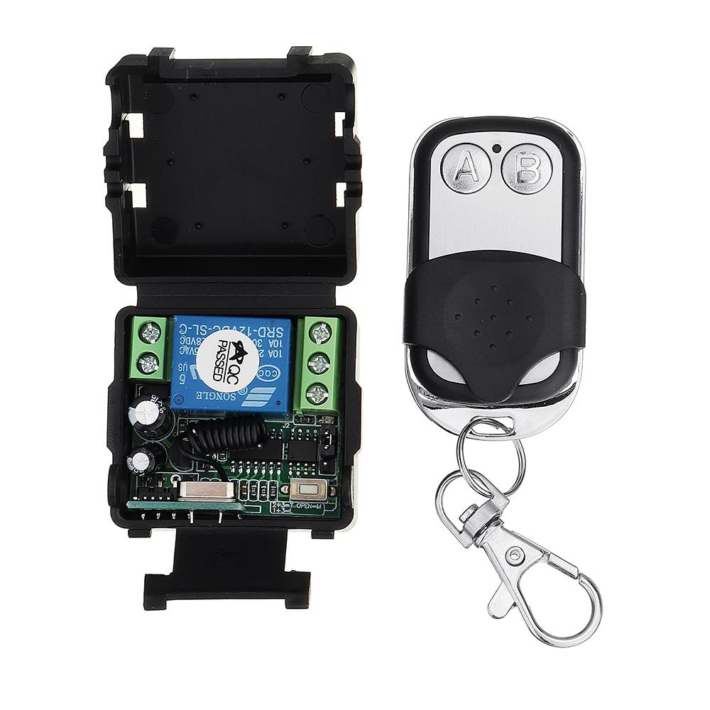 433MHz 12433MHz 12V Single Channel Learning Code Controller Access Control Remote Control Switch With 2 Button Transmitter433MHz 12433MHz 12V Single Channel Learning Code Controller Access Control Remote Control Switch With 2 Button Transmitter