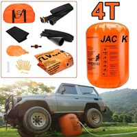 4TON Exhaust Air Lifting Jack Exhaust Pump Dual Inflatable Air Jack Lift 4T Car Truck SUV Off Road Rescue Repairing Tool