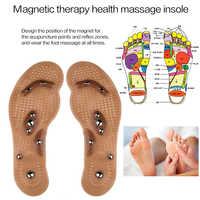 Masajeador de pies Punta de acupuntura magnética almohadillas de zapatos para adelgazar terapia física para aliviar la fatiga dispositivo estimulador de salud