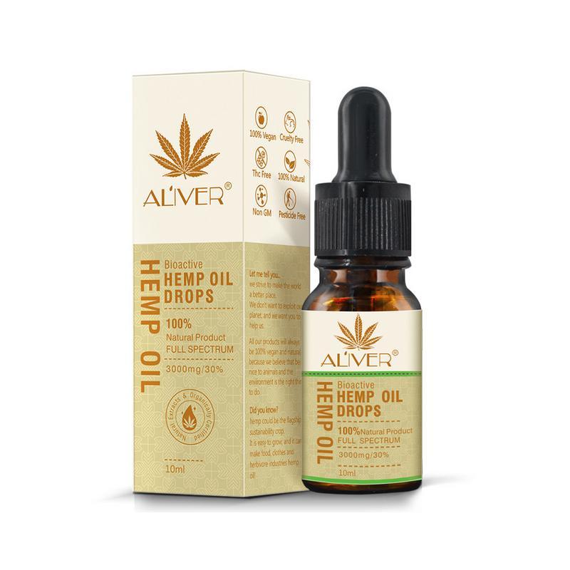Essential Oils Organic Hemp Seed Oil Herbal Drops