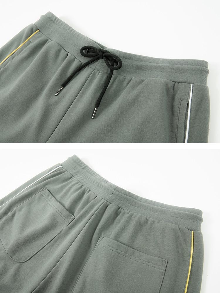 La Nuevo 2019 Pioneros Moda Marca Primavera Hombre Pantalones gris Carta Negro Hombres Ropa De Campamento RS1w0qS