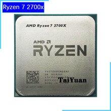 معالج وحدة المعالجة المركزية AMD Ryzen 7 2700X R7 2700X 3.7 GHz ثماني النواة بأسلاك 16M 105W مقبس وحدة المعالجة المركزية AM4