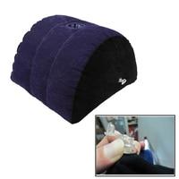 Надувная подушка из ПВХ с флокированием, подушка для поддержки тела, подушка для спины, секс-мебель для пар, для использования с вибратором, ...