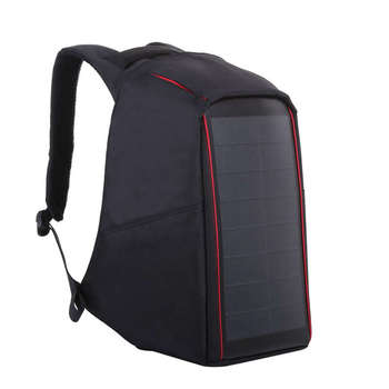 12W Flexible Solar Panel Power Backpack