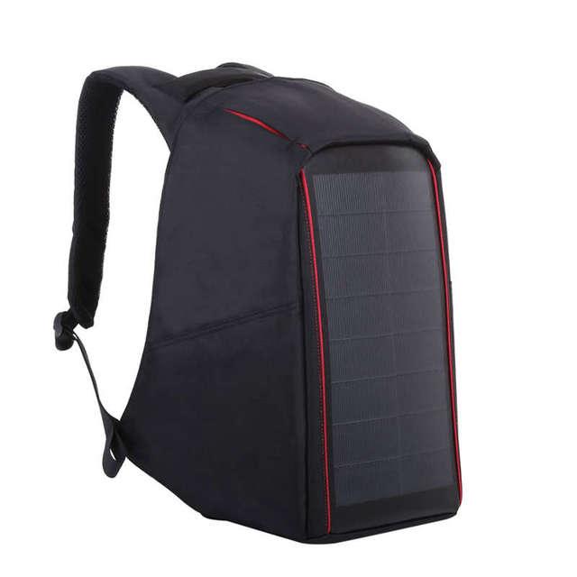 12W Flexible Solar Panel Power Backpack