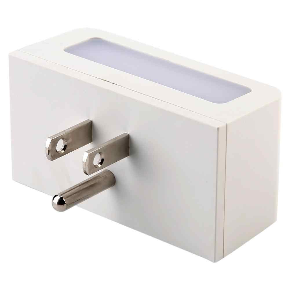 US wtyczka inteligentne gniazdo WiFi inteligentne gniazdko za pomocą, noc, lekki obsługuje sterowanie głosowe 100 ~ 240 V nowy