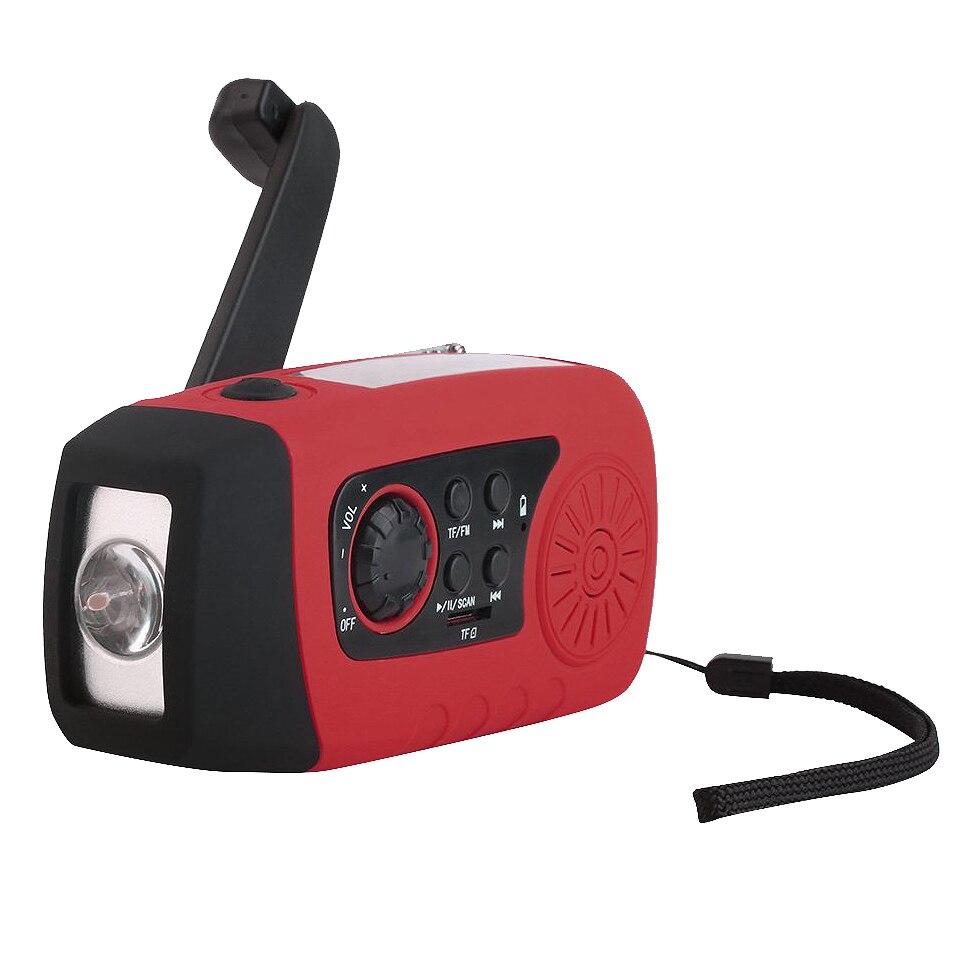 Tragbares Audio & Video Radio Analytisch Tragbare Outdoor Neue Multi-funktionale Wiederaufladbare Mp3 Audio Musik-player Fm Radio Taschenlampe Lautsprecher Und Verdauung Hilft