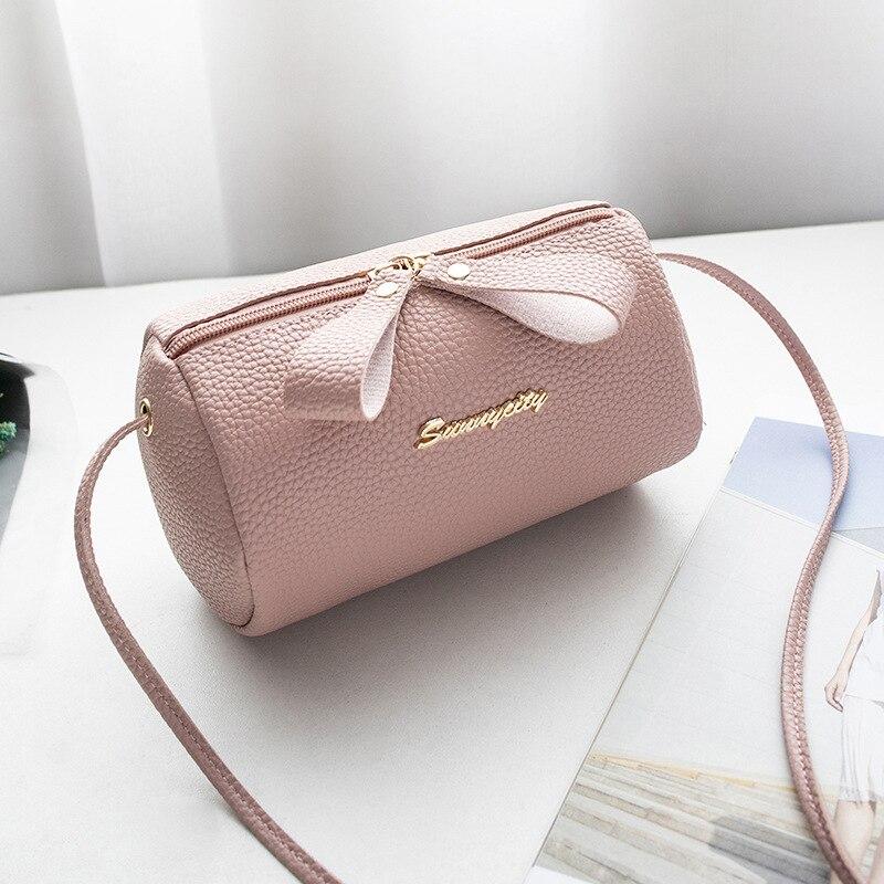 Women's Handbag Shoulder Mini Pigtail Bag Casual Small Bag Shoulder Messenger Handbags Mobile Phone  Party Night Handbags