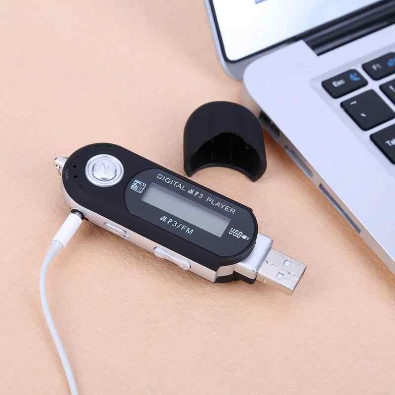 Przenośny Mini MP3 wyświetlacz LCD cyfrowy pamięć USB muzyki MP3 odtwarzacz wsparcie TF pojemność Max 32G obsługa radia FM wysokiej jakości nowy