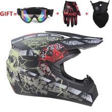 Мотоциклетный взрослый шлем для мотокросса внедорожный шлем ATV Dirt bike горные MTB DH гоночный шлем кросс шлем capacetes