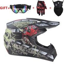 LIBERO del motociclo di trasporto Per Adulti motocross Off Road Casco ATV Dirt bike Downhill MTB DH racing casco casco cross Casco capacetes