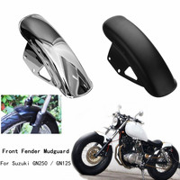 Motorcycle Front For Fender Mudguard Fairing Mug Guard Cover For Suzuki GN125 GN250