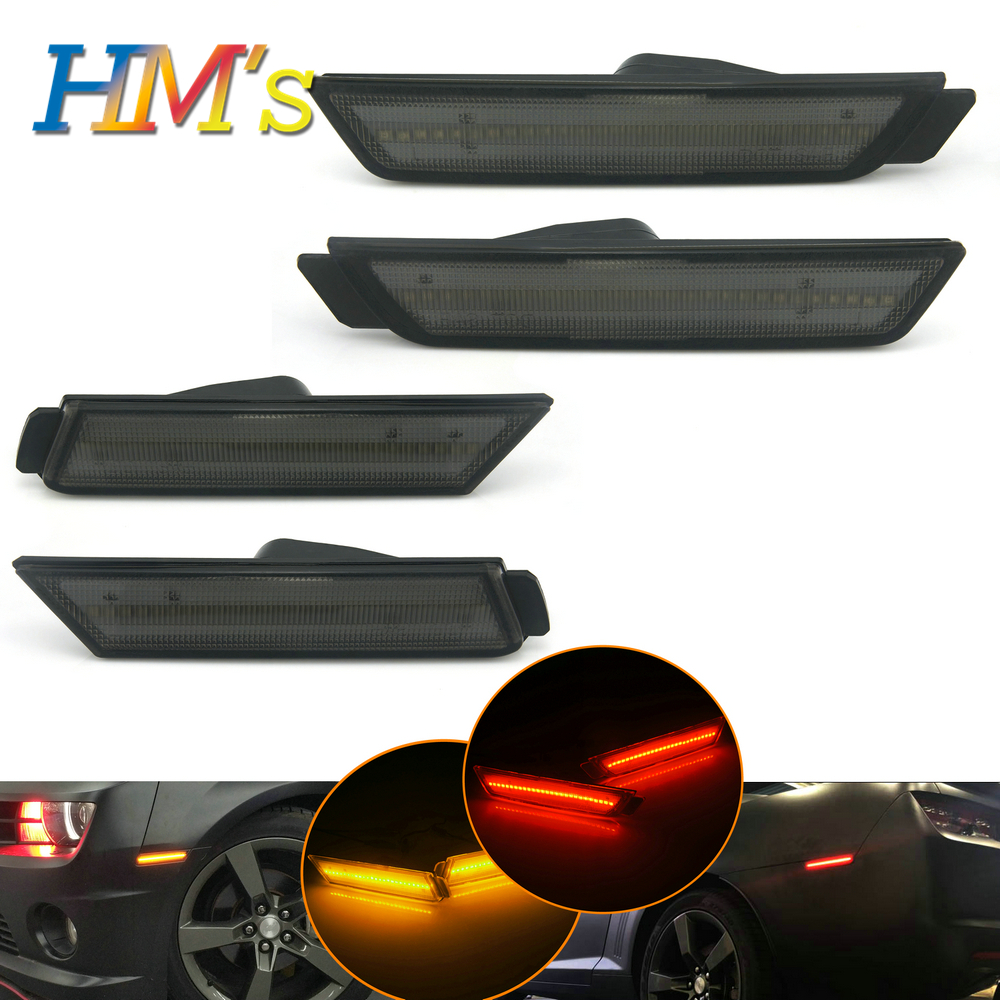 For Chevrolet Chevy Camaro 2010 2011 2012 2013 2014 2015 Car Front Amber Rear Red Side