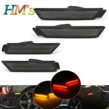 Для Chevrolet Chevy Camaro 2010 2011 2012 2013 2014 2015 автомобилей спереди Янтарный задний красный боковые габаритные огни поворотники SMD светодиодный светодиодные фонари