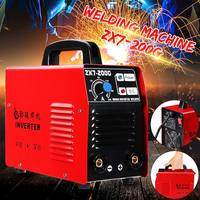 200AMP Welding Inverter Machine Portable MMA/ARC Safety Welders ZX7 200G IGBT DC for Welding Working and Electric Working