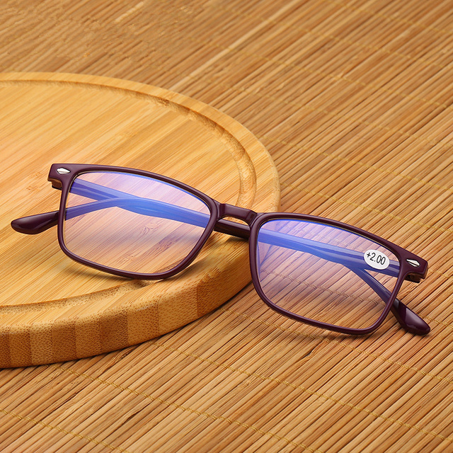 NYWOOH Blue Light Blocking Reading Glasses TR90 Presbyopic Spectacles Computer Eyewear +1.0 1.5 2.0 2.5 3.0 3.5 4.0