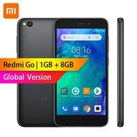 Глобальная версия-Xiaomi Redmi GO 1 ГБ ОЗУ 8 Гб ПЗУ Snapdragon 425 четырехъядерный 5,0
