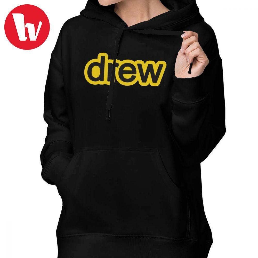 d0ce02c411d Justin Bieber Clothes Purpose Tour Hoodie DREW Hoodies Red Graphic Hoodies  Women Street wear Oversize Simple Pullover Hoodie