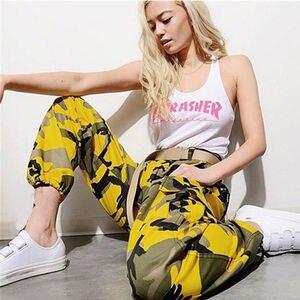 Image 5 - S 3XLสตรีกางเกงCamoกางเกงทหารต่อสู้Camouflageกางเกงยีนส์