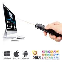 2.4Ghz RF stylus Wireless USB power demonstrator Remote control Laser pointer Wireless remote control Red laser pointer