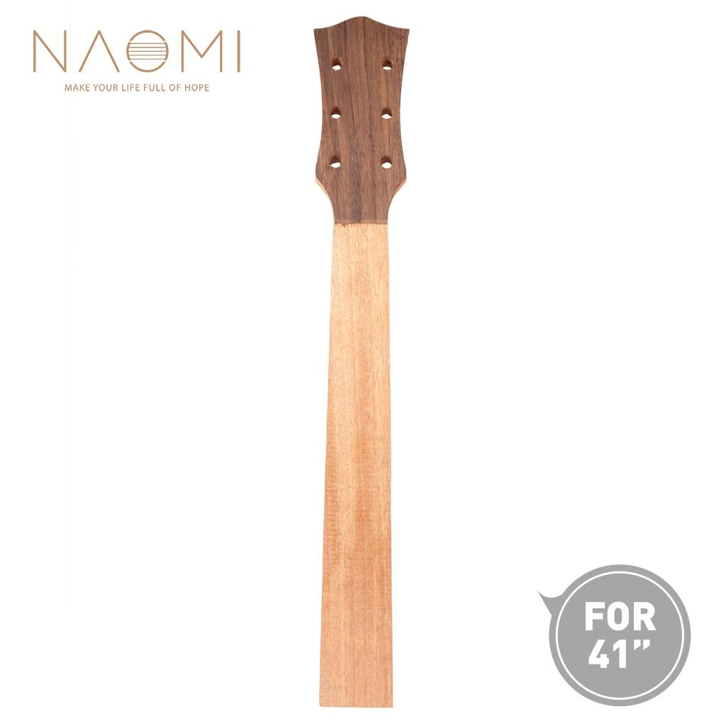NAOMI 41'' Guitar Neck Acoustic Guitar Neck Guitar Luthier ...