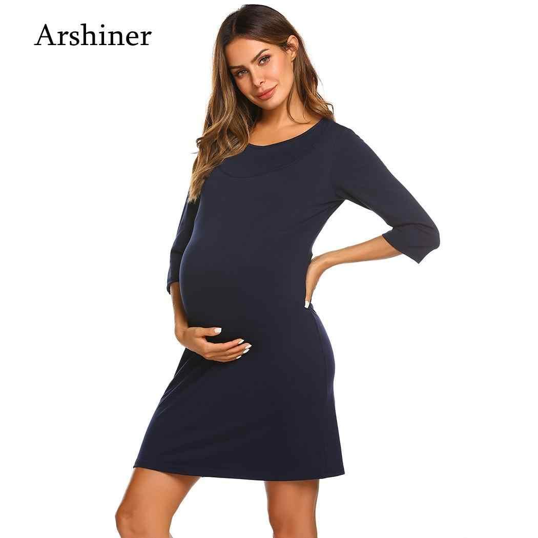 42b031b40bacb Nursing Nightgown Nightdress Hospital Gown Delivery/Labor/Maternity/ Pregnancy Soft Breastfeeding Dress