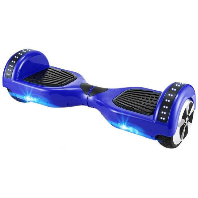 Bluetooth 6,5 дюймов Hover за бортом 2 колеса Электрический самобалансирующий Интеллектуальный скутер 10-20 км в зависимости от нагрузки США ЕС штекер