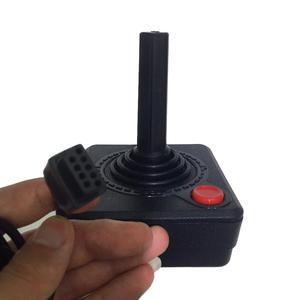 Image 5 - 프리미엄 조이스틱 컨트롤러 핸드 헬드 게임 atari 2600 레트로 4 웨이 레버 및 싱글 액션 버튼 용 휴대용 비디오 게임 콘솔