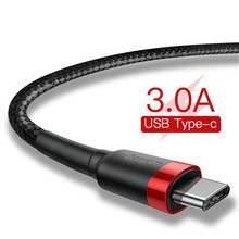 USB Type C Cable for Xiaomi mi 8 Quick Charge QC 3.0 USB C Fast Charging USB Charger Cable for Samsung Galaxy S9 S8 Plus adapter
