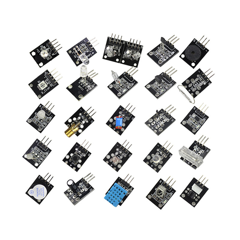 Image 5 - Raspberry Pi 3 Model B+ /4B 37 IN 1 Sensors Kit with big breadboard Starter KitDemo Board   -
