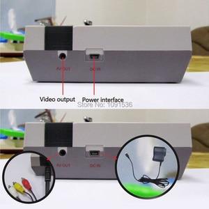 Image 3 - Mini TV portable famille loisirs Console de jeu vidéo AV Port rétro intégré 620 jeux classiques double manette de jeu lecteur