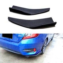 цена на 2 Pcs Car Bumper Spoiler wrap angle splitters Diffuser Anti-crash Wrap angle Shovel Decorative