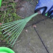 1 шт. девять зубов травяные грабли Sapless лист садовые инструменты Лопата в горшке Садовые принадлежности