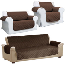 Quilted Sofa Arm Chair Settee Pet Protector Slip Cover Furniture Cushion Throws WXV Sale недорого
