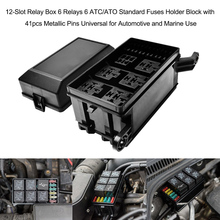 buy universal relay fuse box and get free shipping on aliexpress com rh aliexpress com universal fuse and relay block