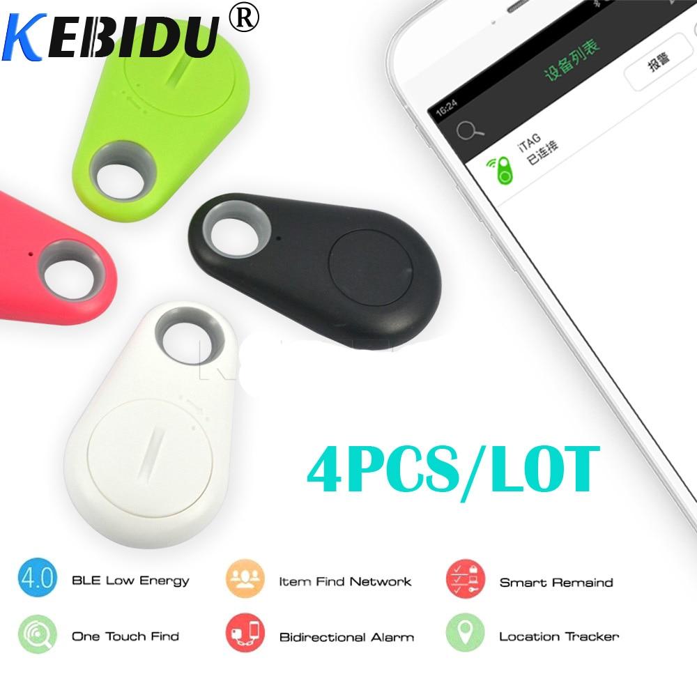 Smart Activity Tracker Energisch Kebidu 4 Teile/los Smart Tag Bluetooth 4,0 Anti Verloren Alarm Tracker Schlüssel Finder Drahtlose Fernauslöser Gps Tracker Für Kind Haustiere Ungleiche Leistung