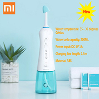 1 Waterprooof Electric Dental Flosser Nasal Irrigator Washing 360 Degrees Miaomiaoce Rotation Clean Nose Oral Hygiene