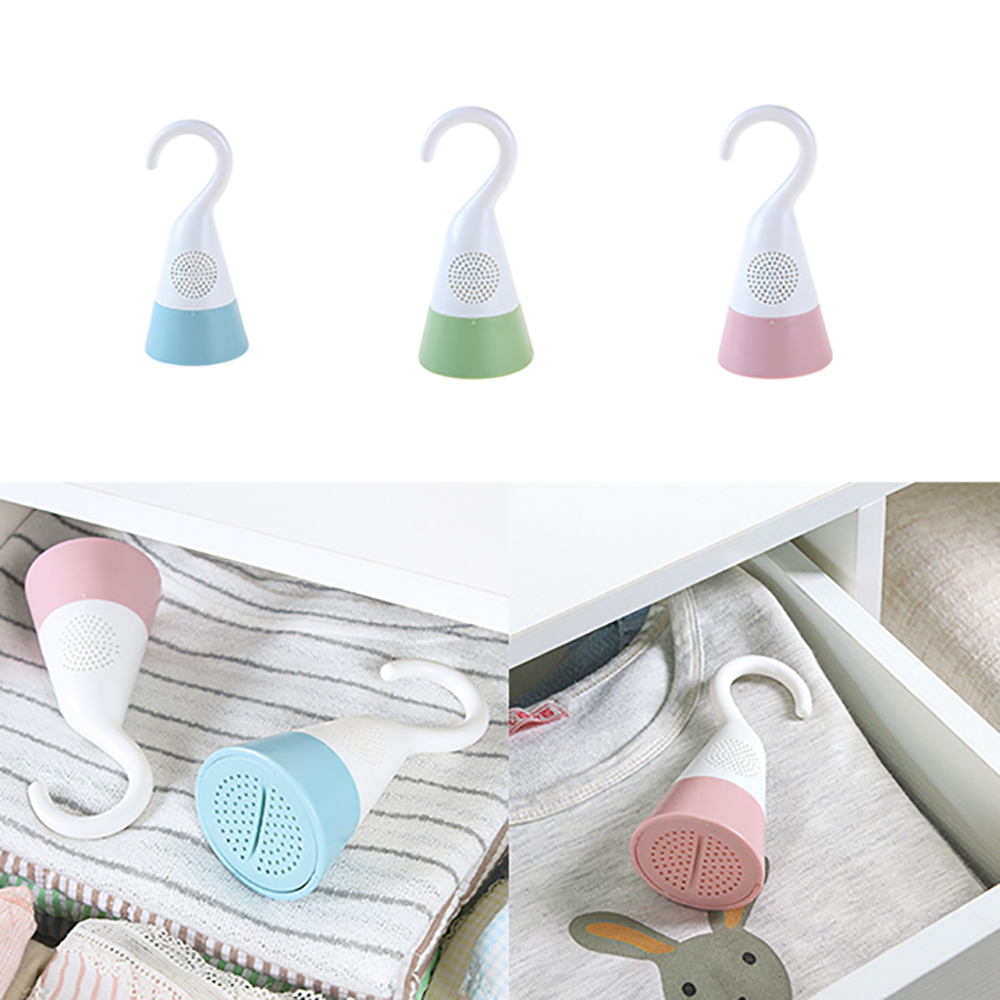 3 PCS Anti-mold Desiccant Hangable Closet Wardrobe Clothing Shoe Cabine Household Cleaning Tool