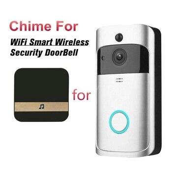 Смарт Wi-Fi видеокамера на дверной звонок визуальный домофон с перезвон снизить потребление Мощность дверной звонок беспроводной охранных К... >> House Lifestyle Store