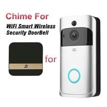 Interphone visuel intelligent de caméra de sonnette vidéo de WiFi avec le carillon