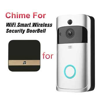 Smart WiFi Video Doorbell Camera Visual Intercom with Chime Lower Consumption Power Door Bell Wireless Home Security Camera - DISCOUNT ITEM  33% OFF All Category