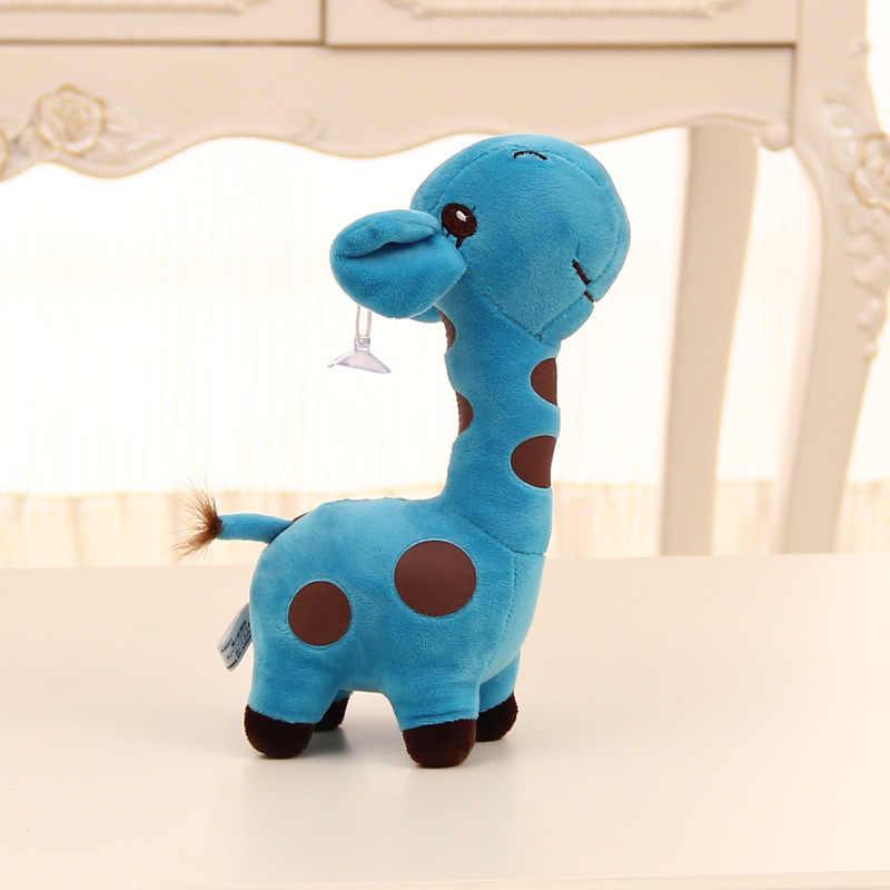 Новое поступление 18 см милый подарок плюшевый жираф мягкая игрушка животное дорогой унисекс милый подарок для детей рождественские подарки на день рождения