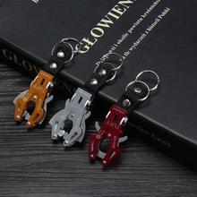 AOZBZ автомобиль Тигр Пряжка брелок Открытый Крюк выживания Пряжка Карабин с кольцом быстросъемный зажим походный ключ сумка замок инструмент