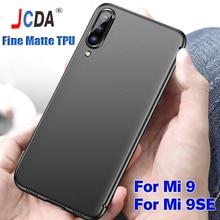 Xiaomi Mi 9 SE Case Cover High Quality Soft TPU Cases Fine Matte Silicone Carcase Capa Anti-fingerprint Shockproof 9SE